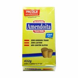 Paçoca Zero Açucar - Cx c/ 24 unidades - Amendoita